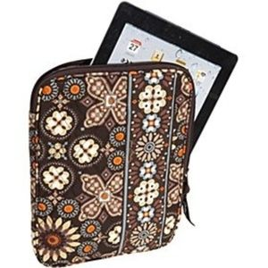 Vera Bradley Brown Canyon IPAD Tablet Sleeve Case